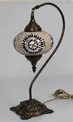 Decorative Mosaic Swan Lamps