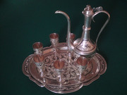 Russian Silver and Porcelain  for Sale