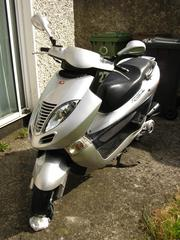 Kymco 125cc moped for sale