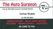Fast and Affordable Cosmetic Autobody Repairs
