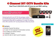 4channel CCTV kits