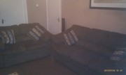 **Quick Sale Required** Hunter Chocolate Brown Sofa 3+2 Seater