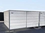 Fence tarpaulin 1, 8x3, 4 m,  PE 150 g/m²,  White