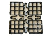 Outdoor floor tiles GRID 1 m² (4 pc.)