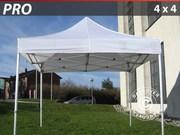 Folding canopy Pro 4x4 m,  white