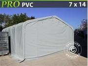 Storage shelter PRO 7x14x3, 8 m PVC