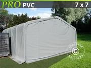Storage shelter PRO 7x7x3, 8 m PVC