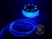 Rope light,  25m LED,  blue