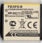 Genuine Fujifilm NP-50 Li-Ion Original Battery