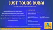 Best Tour Destination in Just Tours Dubai