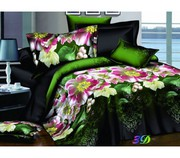 New-Age 3D Double Bed Sheets and Duvet Sets for Sale Online
