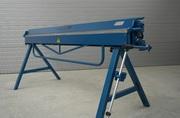 Sheet Metal Folder / Bending Brake ZGR-2000/0.8 + Cutting Shears RL-0.