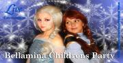 Bellamina frozen childrens party for communions,  kids partys,  venues