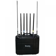 Jammer up to 150m 7 Bands 175W GSM 2G 3G 4G 2.4Ghz WIFI GPS Portable