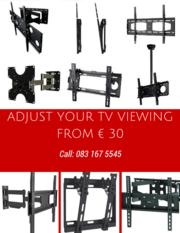 Tv brackets ,  flat,  tilting , swivel ,
