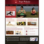 Advanced Yoga and Fitness Website Script Website