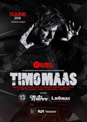 TIMO MAAS LIVE AT THE BUTTON FACTORY