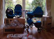 STOKKE XPLORY V4 BABY STROLLER COMPLETE SET