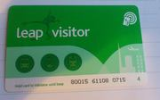 Swap a 28 days unlimited Leap Visitor Card for an Ipad mini or Iphone
