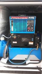 Prochem Carpet cleaning truckmount in Transit van