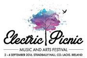 Electric Picnic Camping Tickets x 2