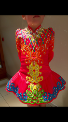 Beautiful Siopa rinse Irish dance dress
