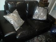 Brown 2 Seater Leather Sofa for sale
