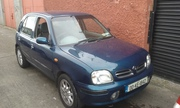 2000 Nissan Micra Hatchback for sale with full year tax paid. €800