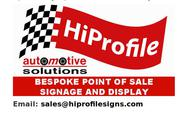 Car Signage Supplier in Dublin - Hi-Profile Automotive Solutions
