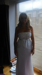 wedding dress two piece set corset and skirt