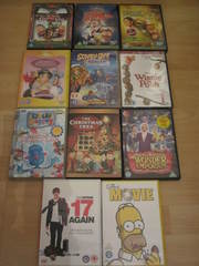 Collection of Wide Variety of DVDs for Sale