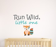 Run Wild Little One Wall Sticker