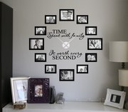 Time spent picture frame clock