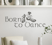 Irish Dance Born to Dance Wall Decal