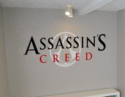 Assassin's creed wall art decal