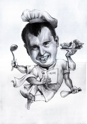 Caricatures and portraits from your photos