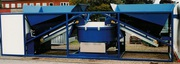 SUMAB K80 concrete batching plant,  Swedish quality.