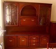 Stunning Mahogany Display and Tv Cabinets