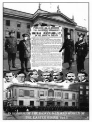 1916 Easter Rising Commorative Posters